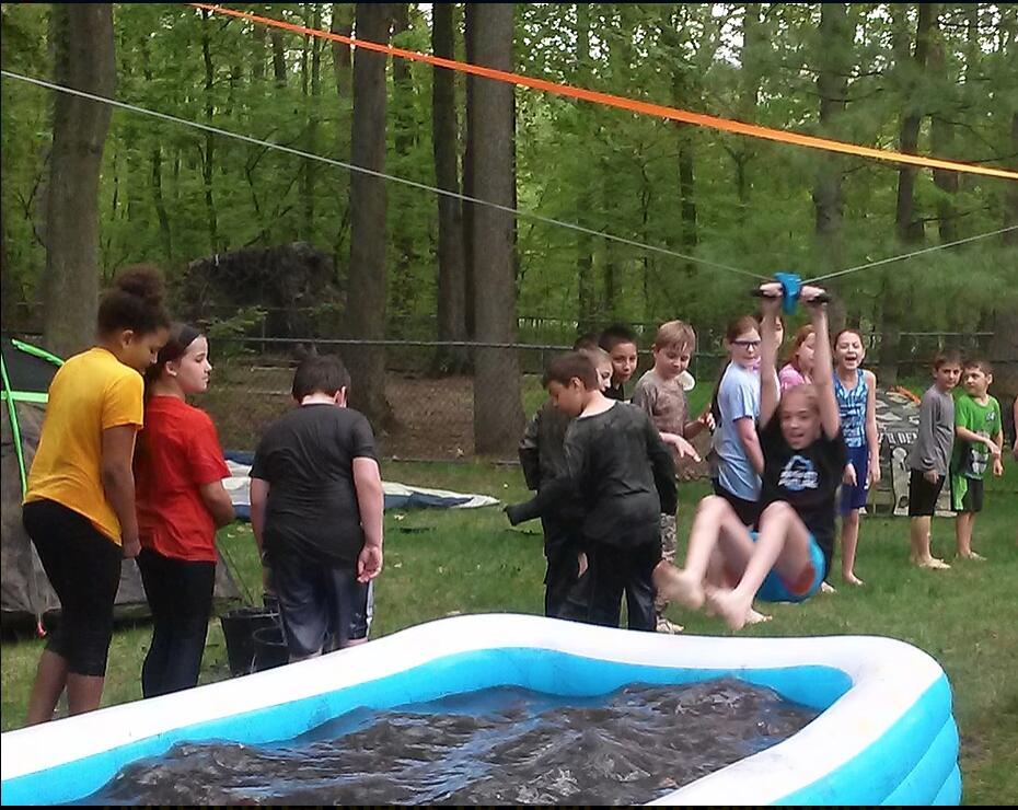 Exciting Zip Line Party